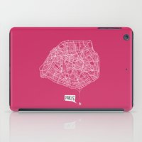Spidermaps #1 Light iPad Case