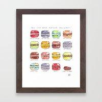 Take Your Pick Framed Art Print