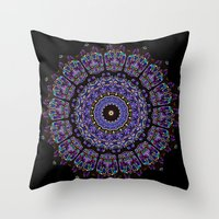Kaleid Throw Pillow