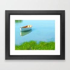 Serene boat scene#2 Framed Art Print