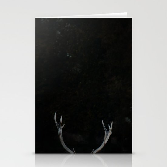 Antlers Stationery Card