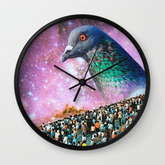Pigeon Wall Clock