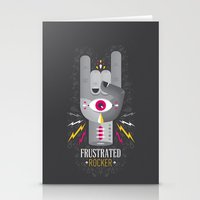 Frustrated Rocker Stationery Cards