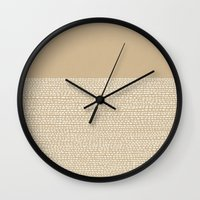 Riverside - Sand Wall Clock