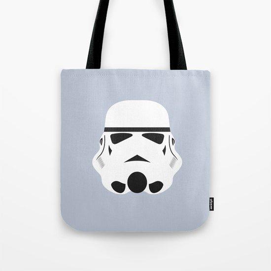 Star Wars Minimalism - Stormtrooper Tote Bag
