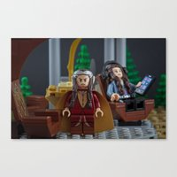 New Fangled Tourists Canvas Print