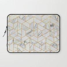 Marble hexagonal pattern Laptop Sleeve