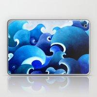 Ocean Inspired Print Of … Laptop & iPad Skin