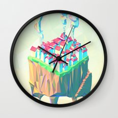 Triplex Wall Clock