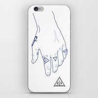 Make My Hands Famous - Part I iPhone & iPod Skin