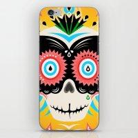 Dia de los Muertos Calavera  iPhone & iPod Skin
