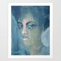 Lady of Grace Art Print