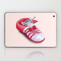 Cat In The Shoe Laptop & iPad Skin