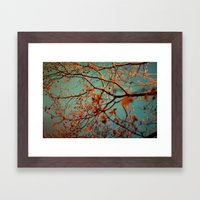 Neon Nights II Framed Art Print