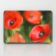 Warmth- Poppies In Love  iPad Case