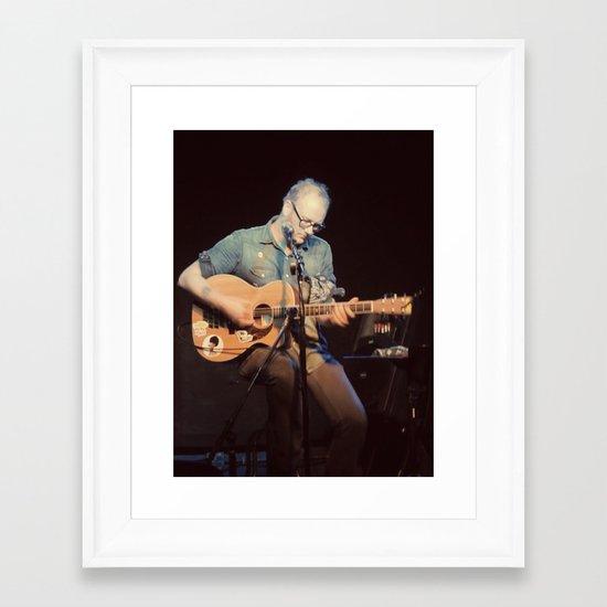 Mike Doughty - ANALOG zine Framed Art Print