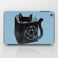 WITCHCRAFT CAT (Blue) iPad Case