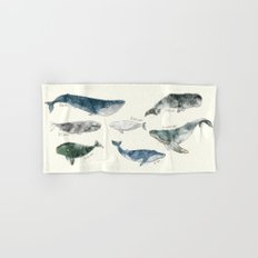 Whales Hand & Bath Towel