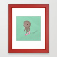 Accidental Legends: Bigfoot Framed Art Print