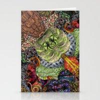 Psychedelic Botanical 10 Stationery Cards
