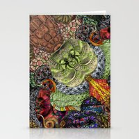 Psychedelic Botanical 10 Stationery Cards