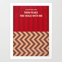 No169 My Twin Peaks Mini… Art Print