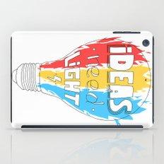 Ideas Need Light iPad Case
