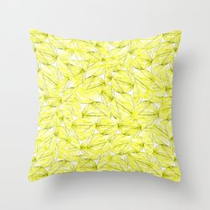 Summer Bamboo Throw Pillow