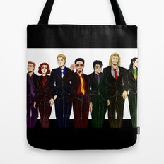 Suitvengers Tote Bag