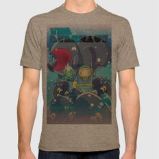 The Eternaut Mens Fitted Tee Tri-Coffee SMALL