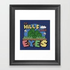 The Hills Have Eyes Framed Art Print