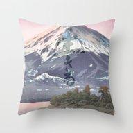 The Kawaguchi Trail Throw Pillow