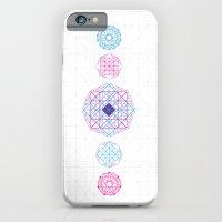 Geometric scream iPhone 6 Slim Case