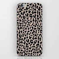 Tan Leopard iPhone & iPod Skin