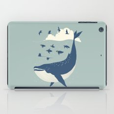 Fly in the sea iPad Case