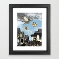 I HEAR AMERICA SCREAMING! Framed Art Print
