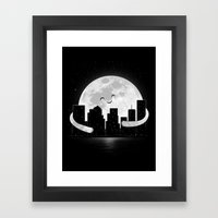 Goodnight Framed Art Print