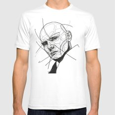 Billy Corgan SMALL White Mens Fitted Tee