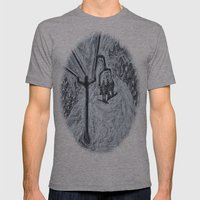 POWDER Mens Fitted Tee Athletic Grey SMALL