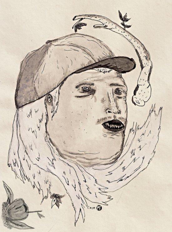 Cabello Blanco Art Print