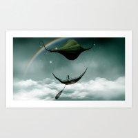Sky Traveler Art Print