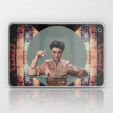 Retro Woman with Nailpolish Laptop & iPad Skin