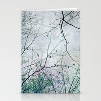 twigs tapestry Stationery Cards