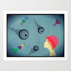 eye for an eye Art Print