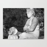 Mr Mott's Dog Canvas Print