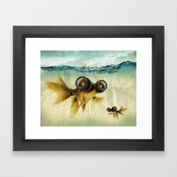 Fish Eye Lens 02 Framed Art Print