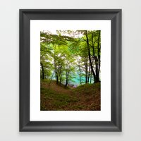 Plitvice Lakes Framed Art Print