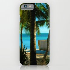 The Smallest Beach in Key West iPhone 6 Slim Case