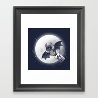 Bat Bat Framed Art Print