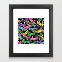 80's Kicks! Framed Art Print